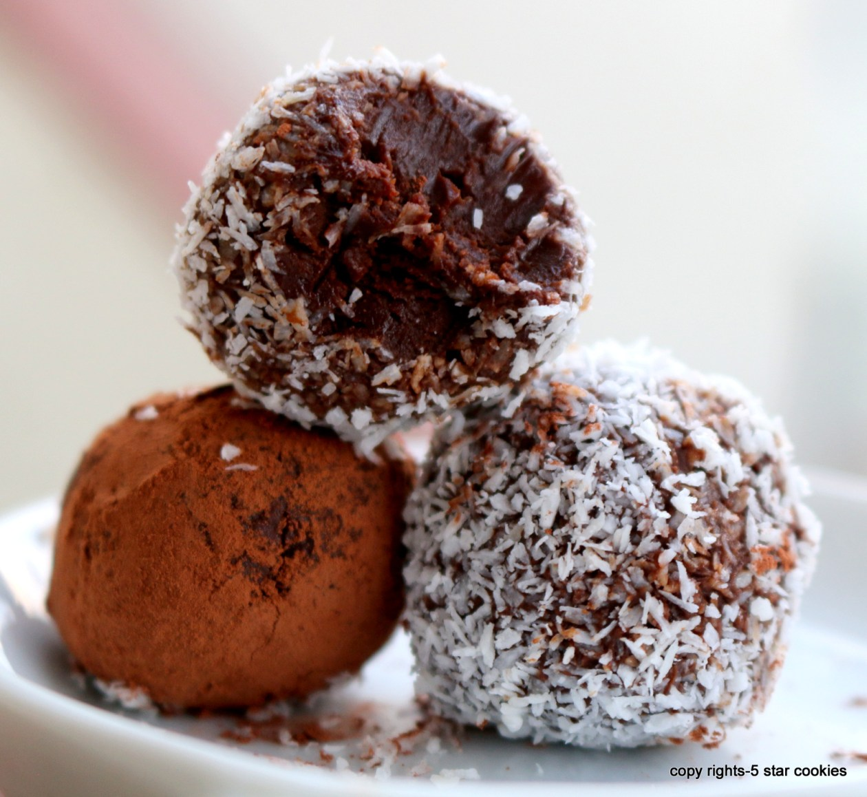 chocolate truffle from the best food blog 5starcookies-enjoy and share