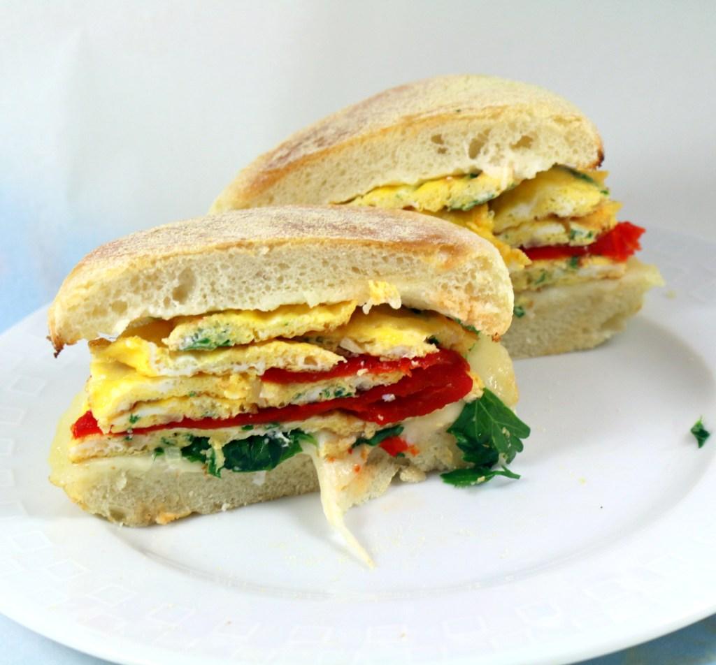 5 Star Breakfast Sandwich from best food blog 5starcookies -ENJOY AND SHARE