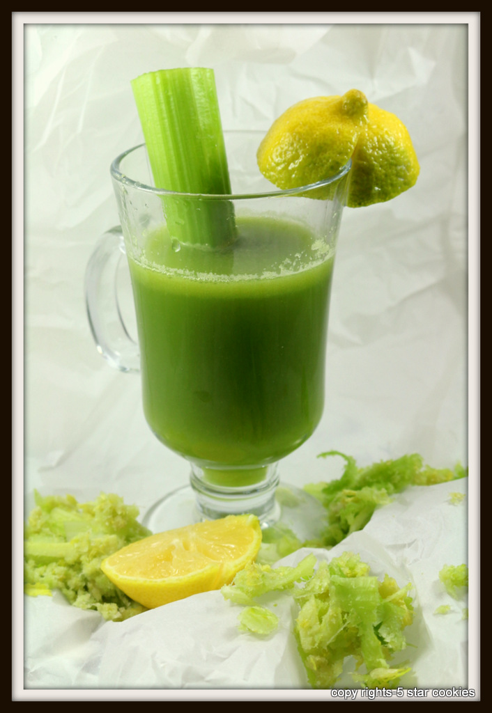 Celery juice miracle for your body from the best food blog 5starcookies