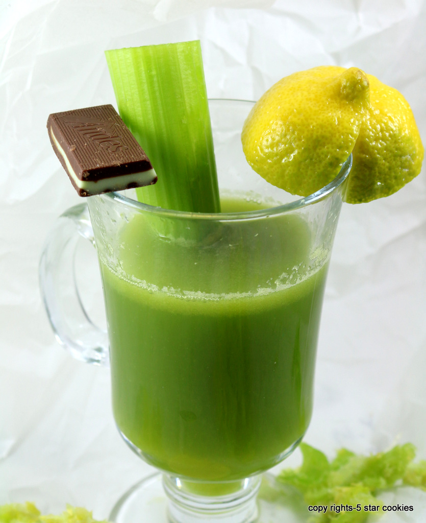 Celery juice miracle for your body from the best food blog 5starcookies -enjoy your miracle juice