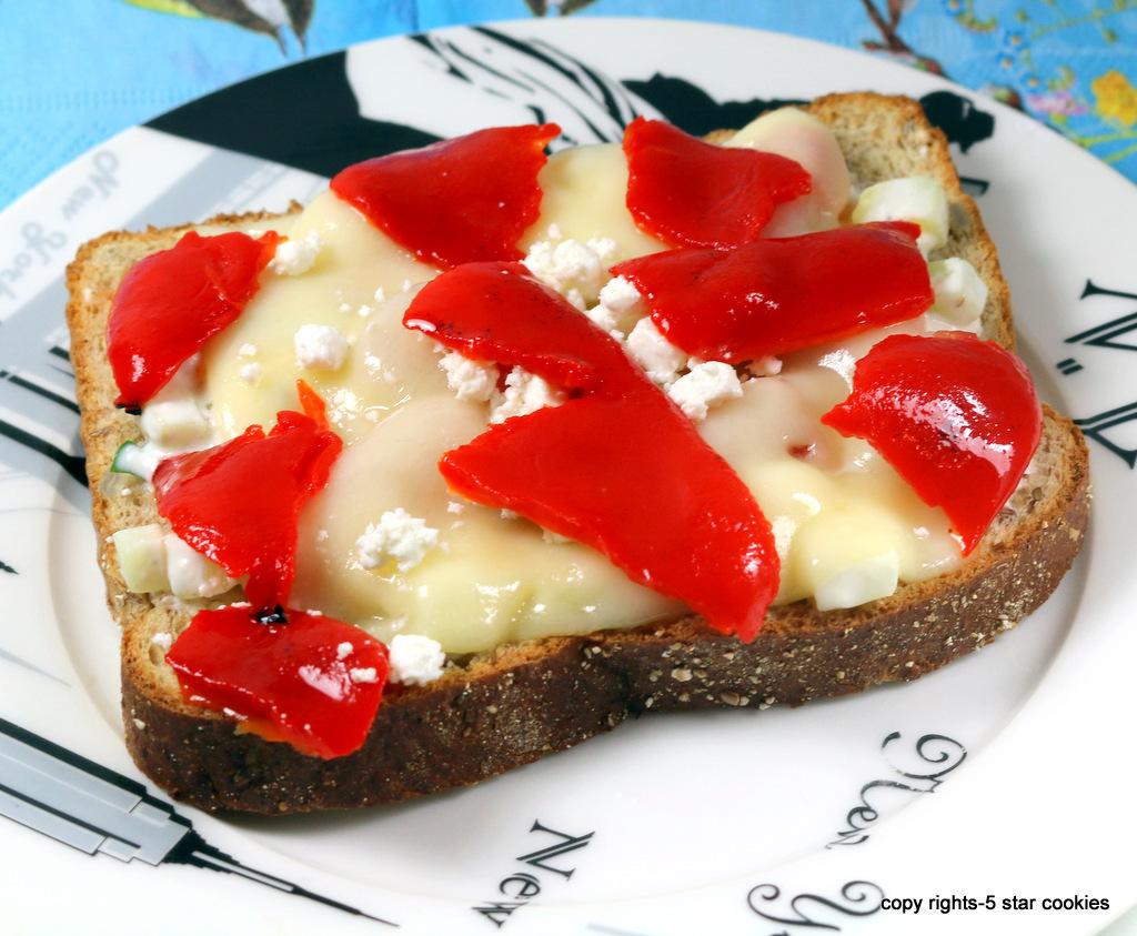 Cream Cheese Sandwich from the best food blog 5starcookies-Ariel's recipe