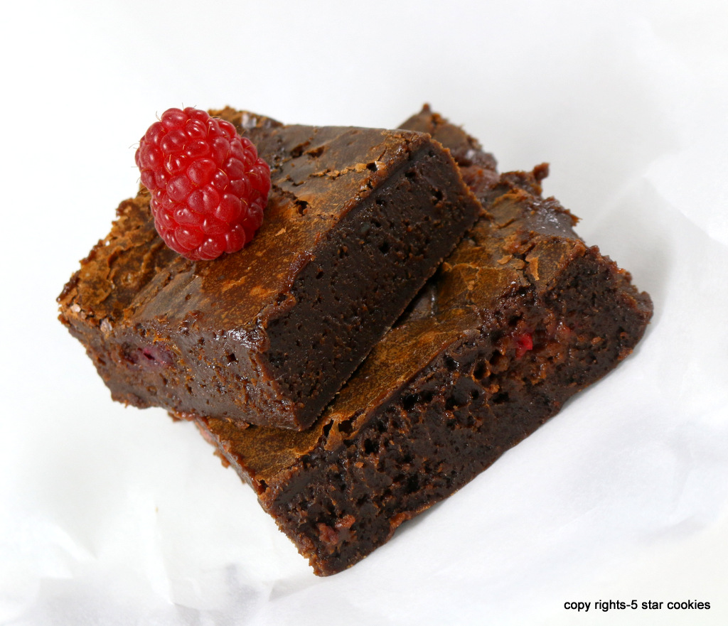 fudge brownies from the best food blog 5starcookies