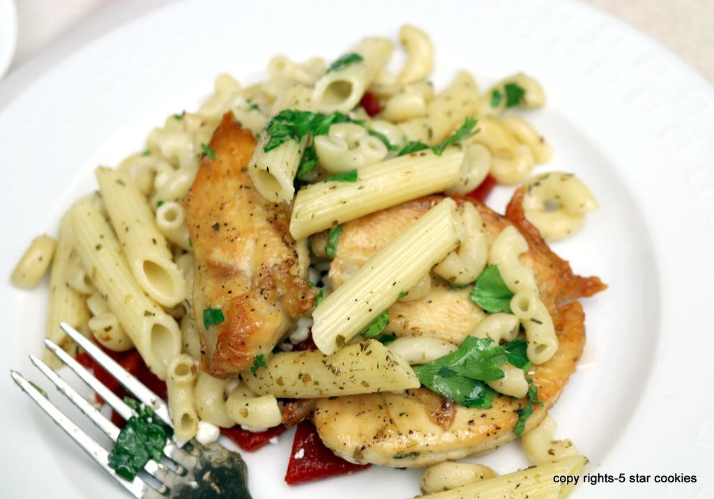 Italian Baked Chicken Pasta