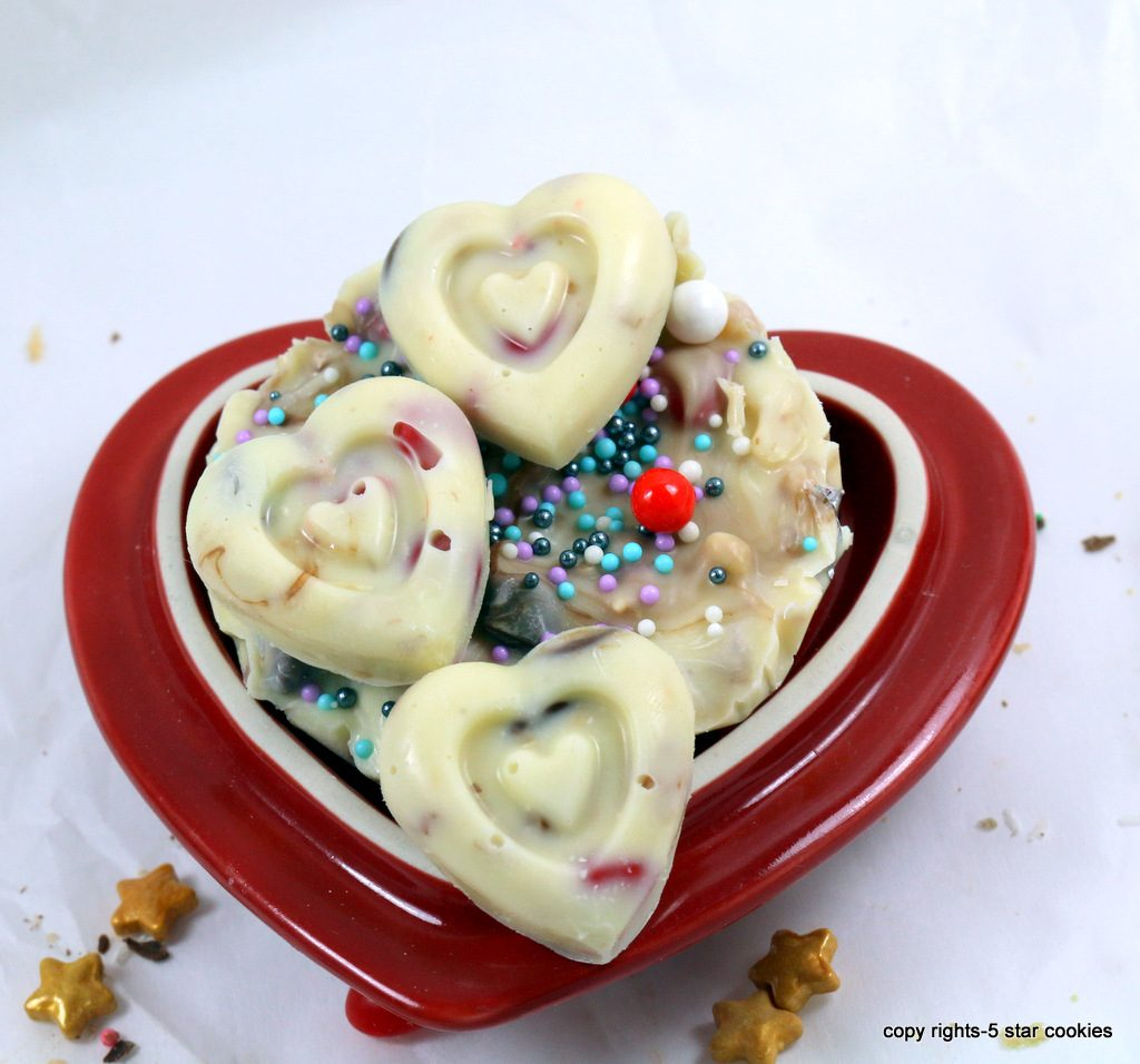 Chocolate Heart from the best food blog 5starcookies