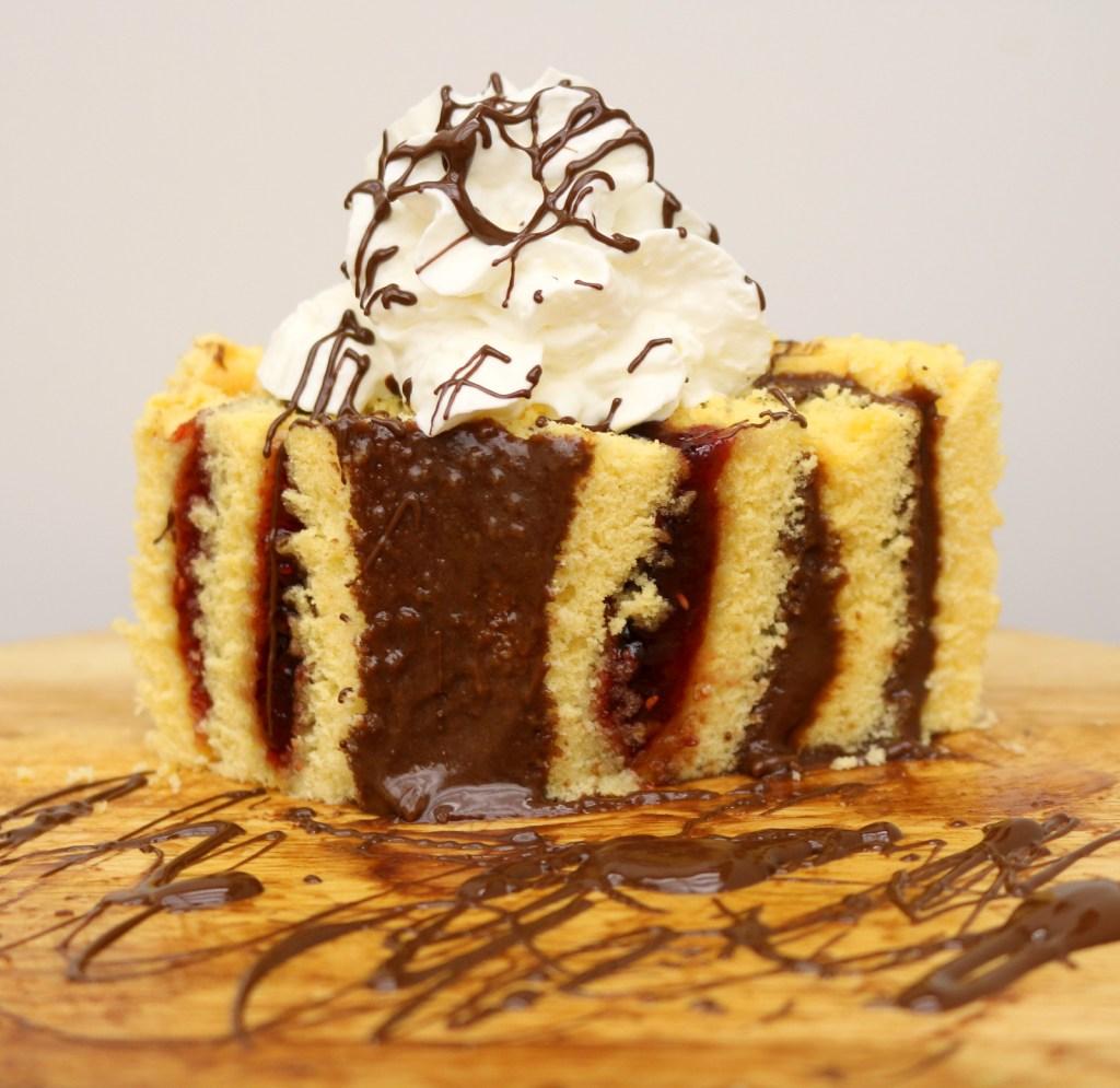 Vintage Grandma's Nostalgia Cake from the best food blog 5starcookies