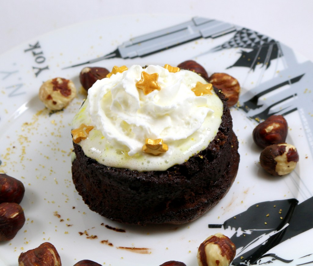 hazelnut orange lava cake from the best food blog 5starcookies-the best chocolate lava cake