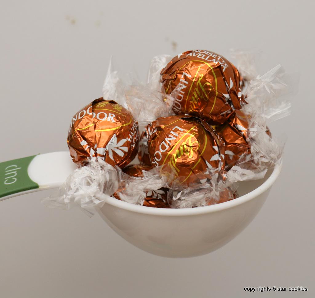 hazelnut orange lava cake from the best food blog 5starcookies-Lindor hazelnut truffles