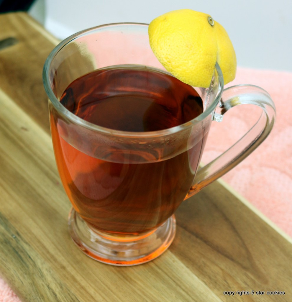 healthy grandmas sugar tea from the best food blog 5starcookies-sore throat and cough