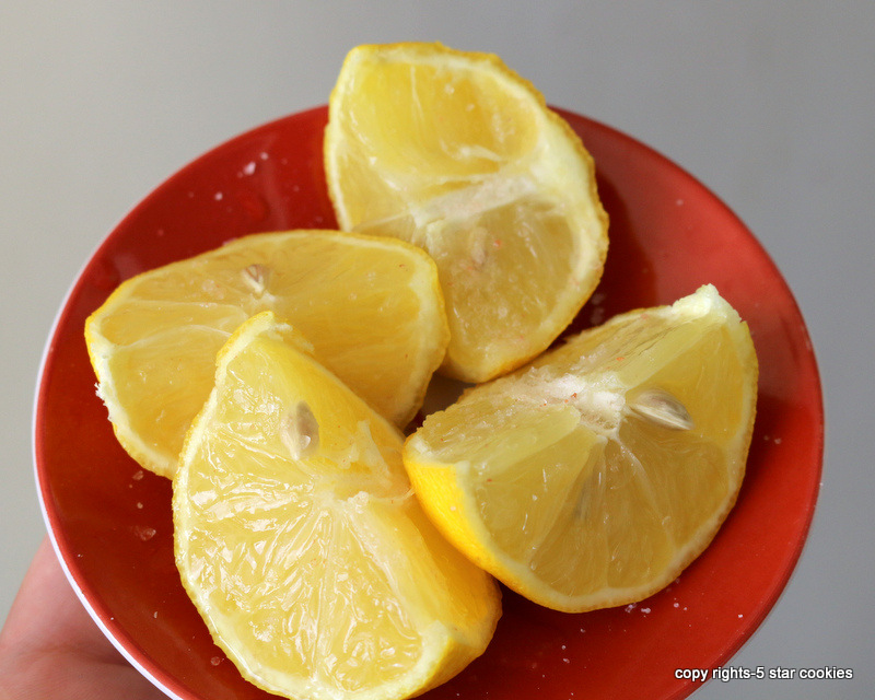 fast and furious number 3 from the best food blog 5starcookies - lemon and salt in your bedroom will reduce the stress and negative energy in your life