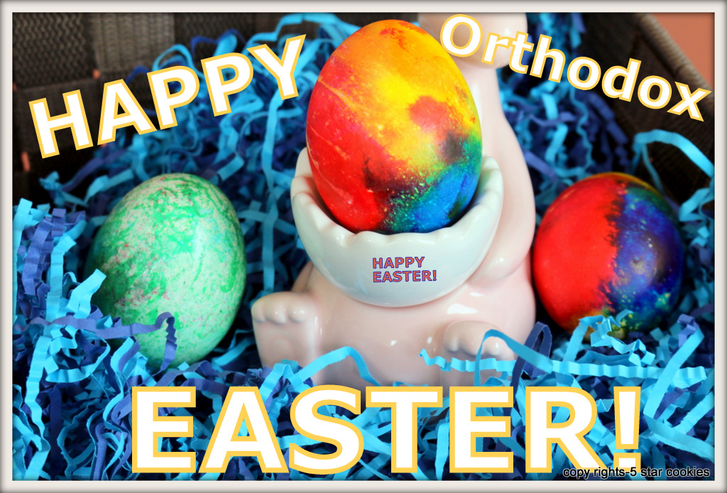 Happy Orthodox Easter  from the best food blog 5starcookies-Happy Easter