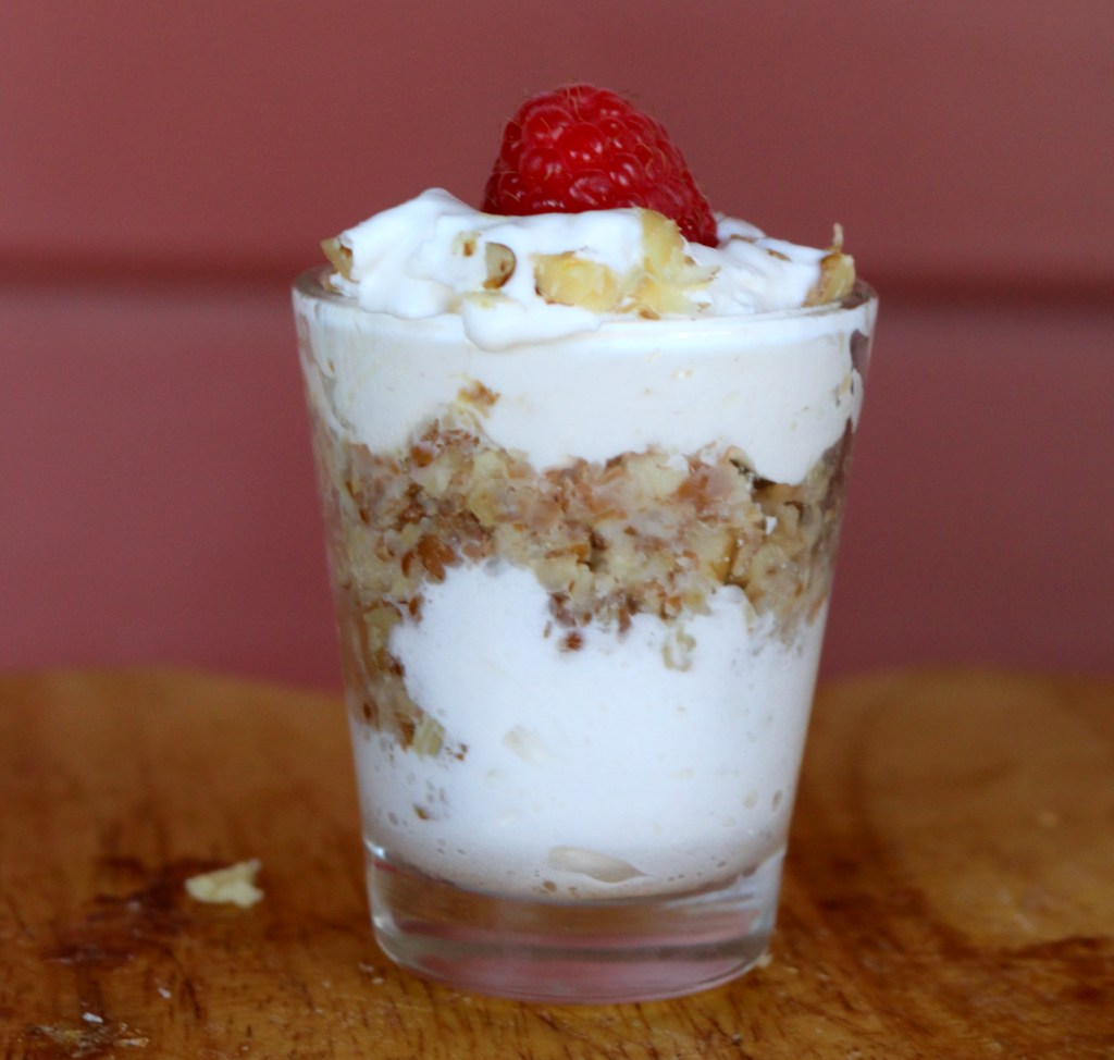 wheat with whipped cream from the best food blog 5starcookies -extraordinary recipe