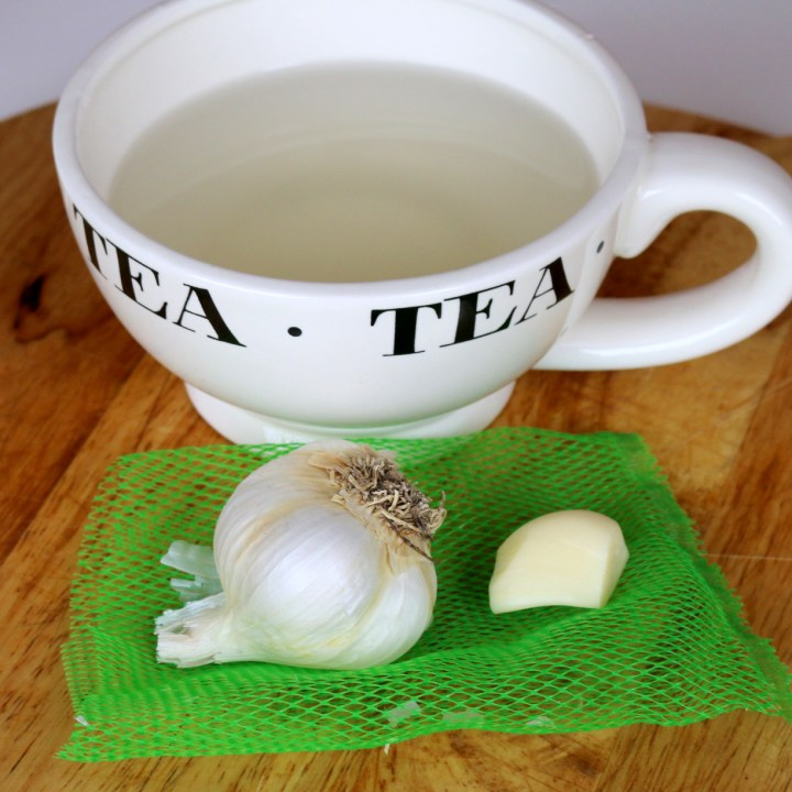 garlic tea from the best food blog 5starcookies