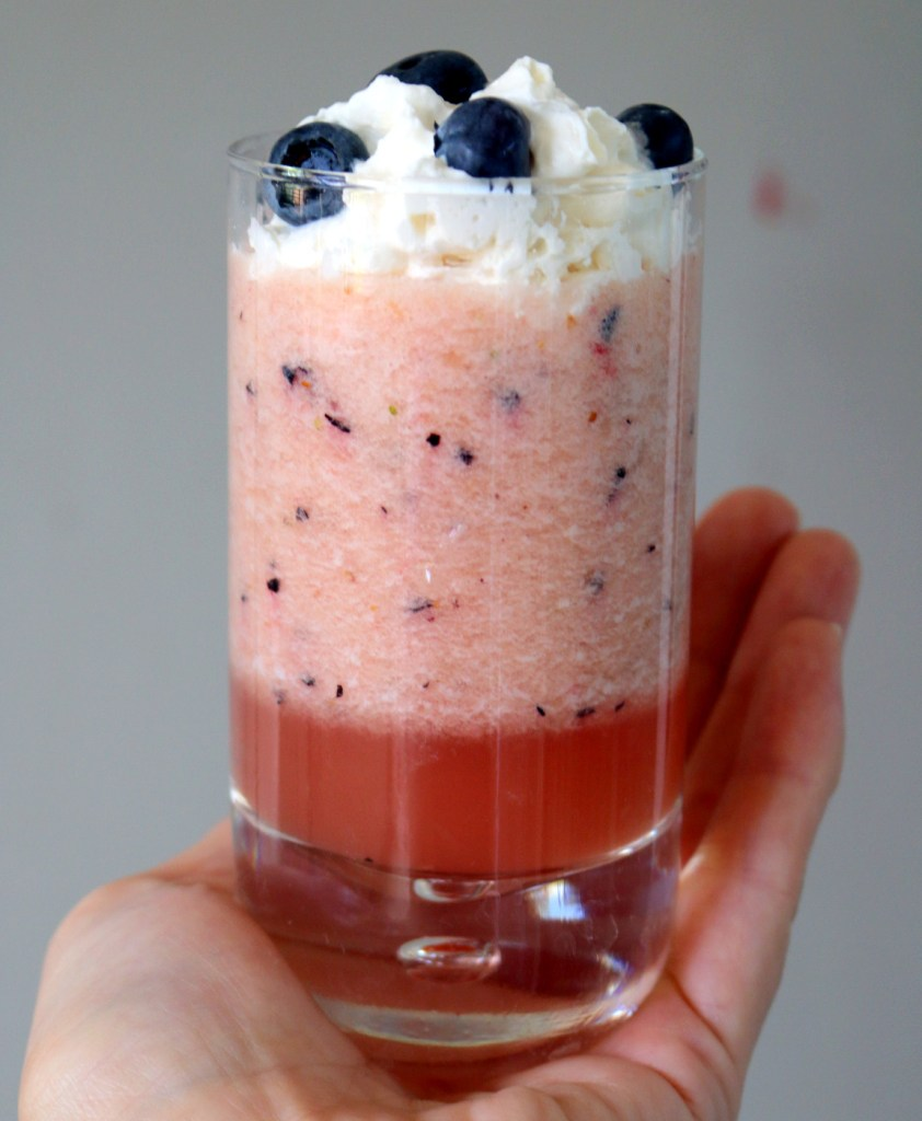 Mixed fruit drink from the best food blog 5starcookies