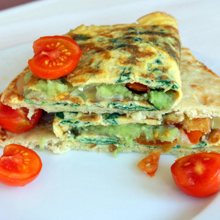 The best breakfast fab omelet from 5starcookies-made in 15 minutes