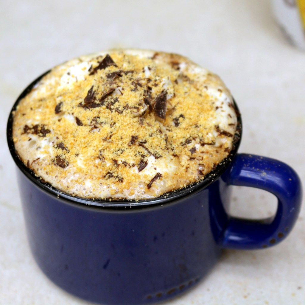 """quick and easy recipe - Nutella S""""mores Drink"""