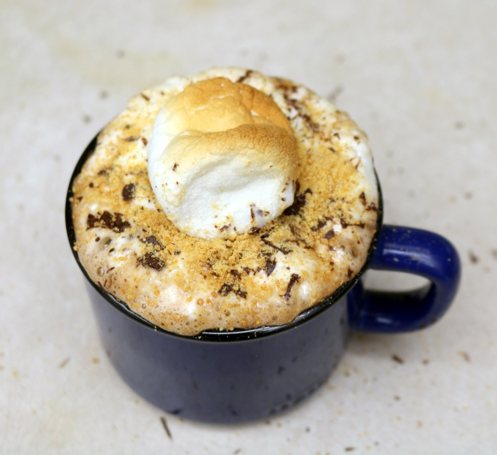 Nutella Smores Drink from the best food blog 5starcookies