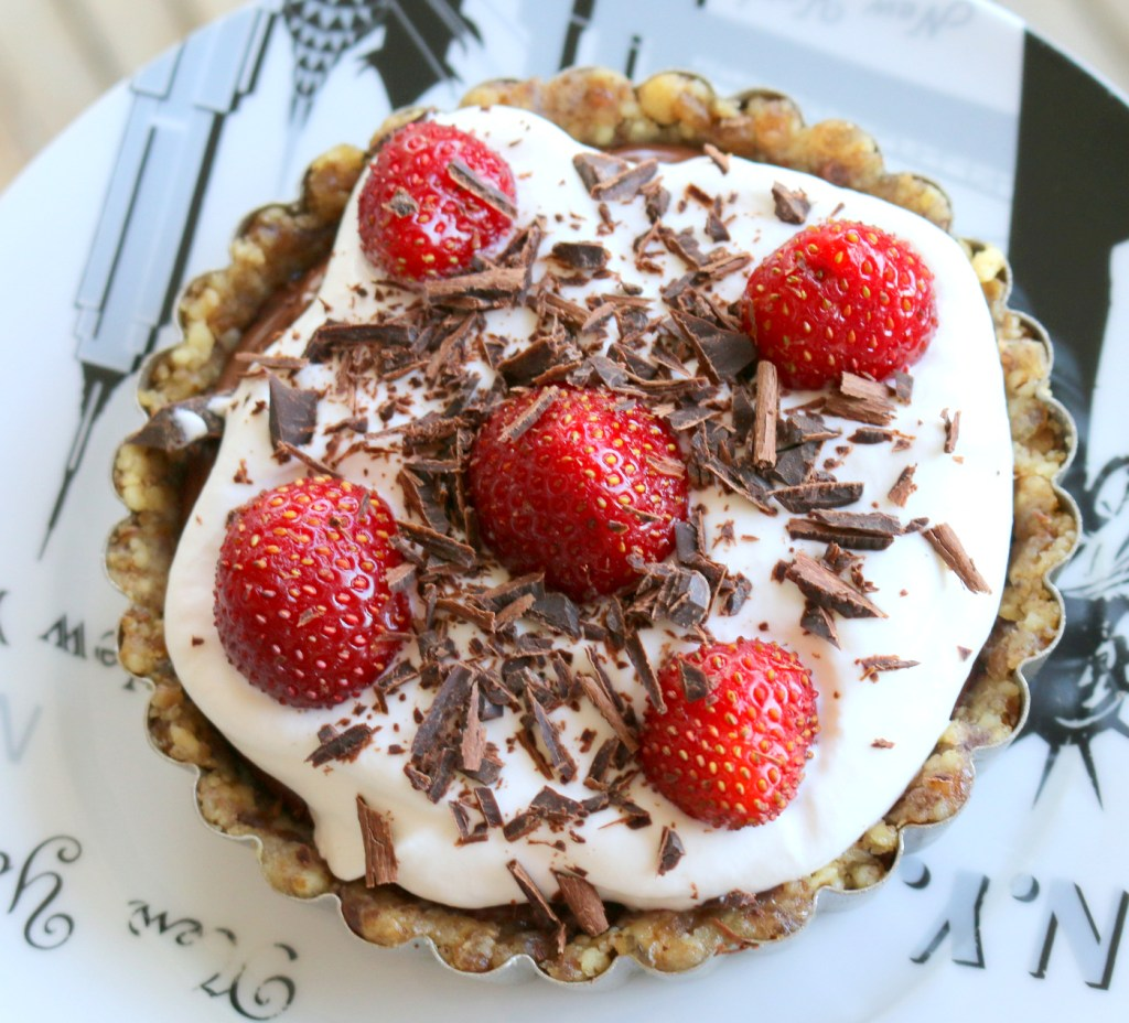 Nutella Summer Tarts-easy no bake recipe for all Nutella lovers