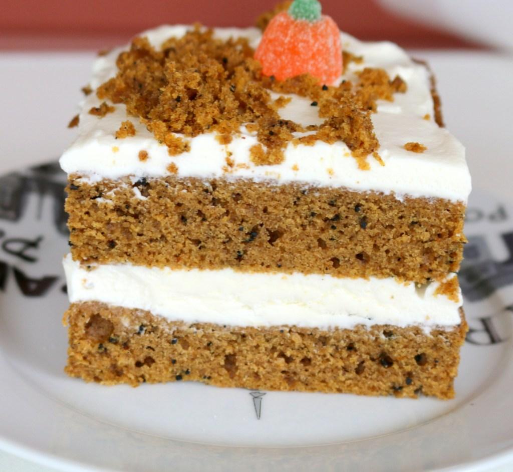 Pumpkin Espresso Cheese 5 Star Cake-decorate with pumpkin candy or M&M