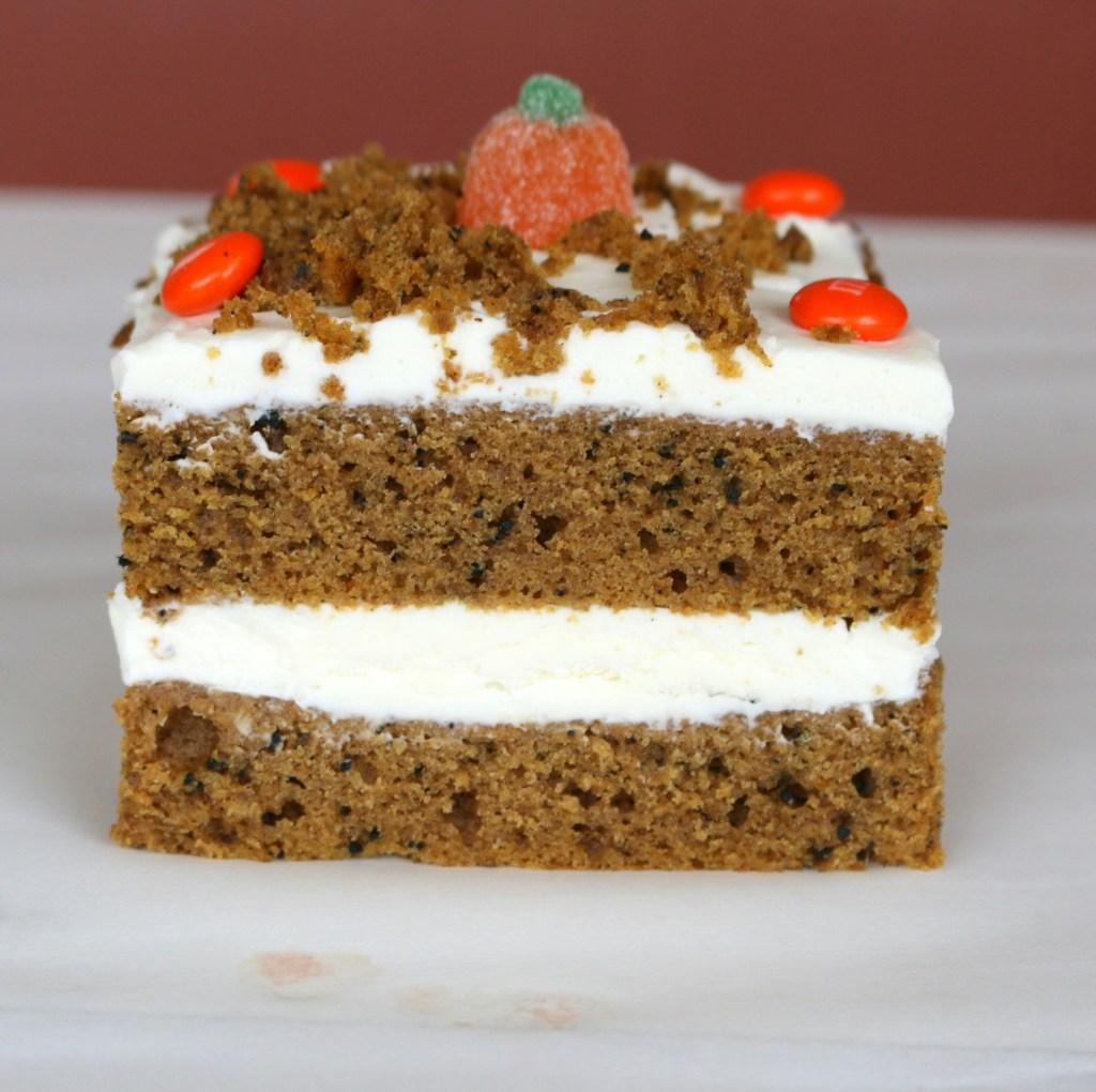 5 star recipe from 5 star cookies - Pumpkin Espresso Cheese 5 Star Cake