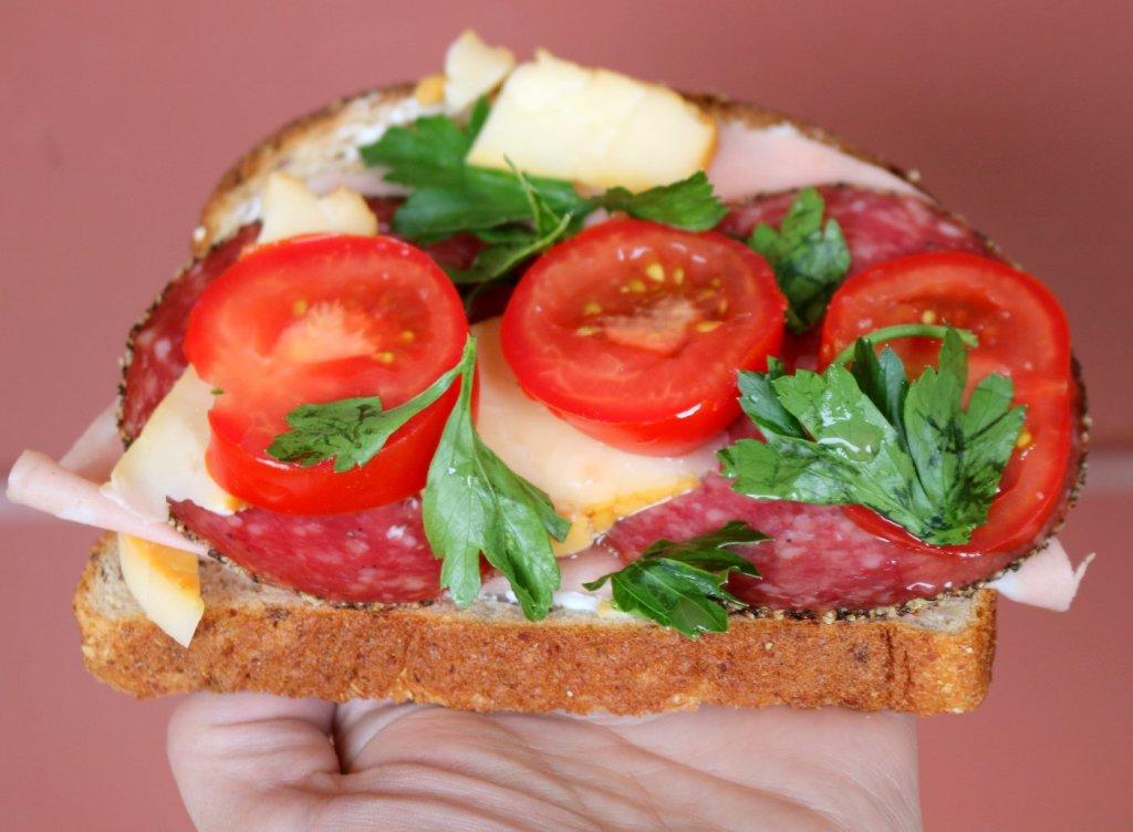 How to make Hero Open Sandwich
