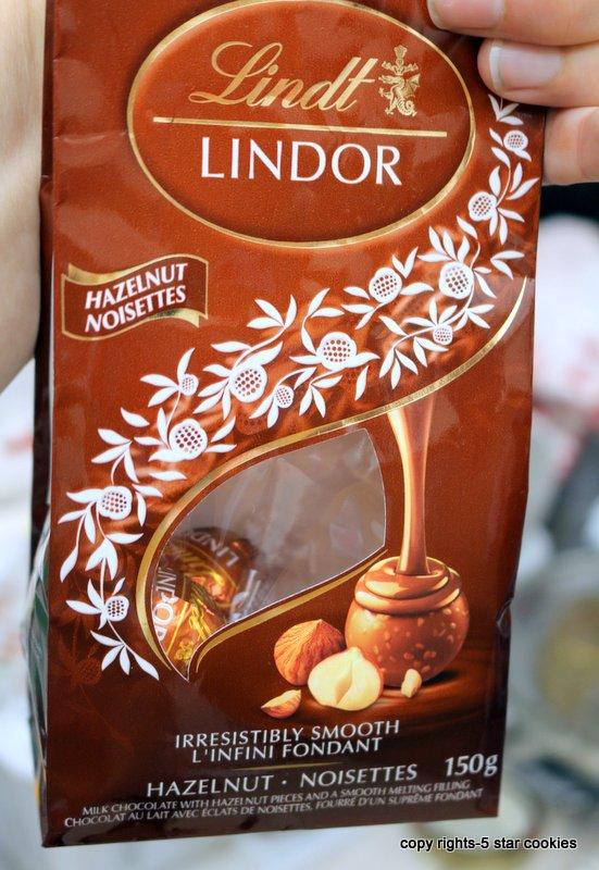 Lindor Hazelnut Truffles-chocolate heaven for you