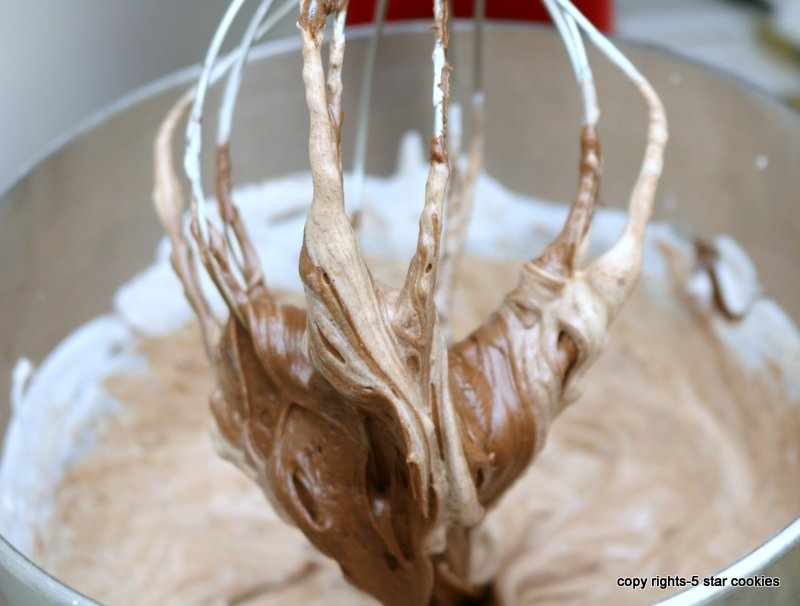 Nutella frosting from the best 5starcookies