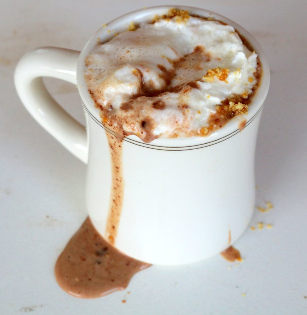 enjoy and share the best Lindt hazelnut hot chocolate