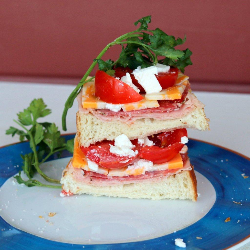 Hero Open Sandwich from the best food blog - breakfast 5 star recipe