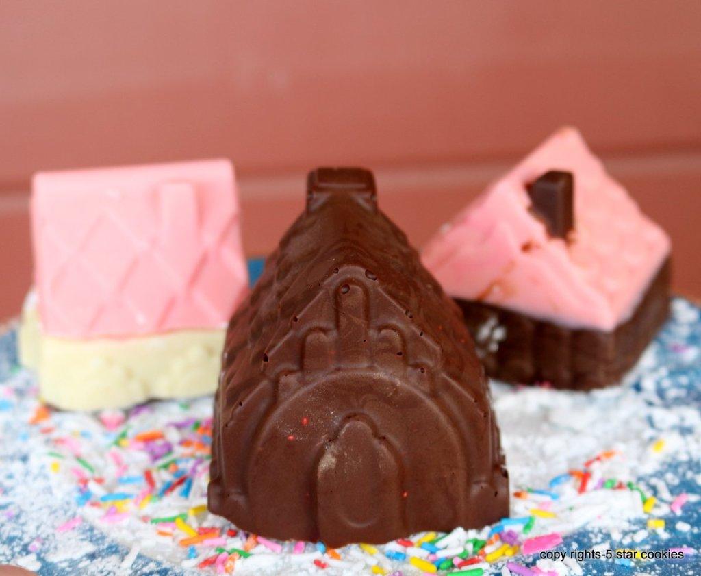 chocolate popcorn house