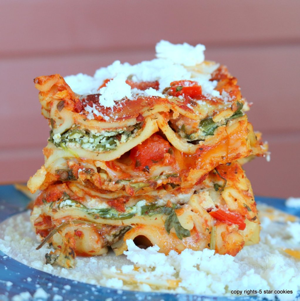 simple homemade lasagna - 5 star recipe