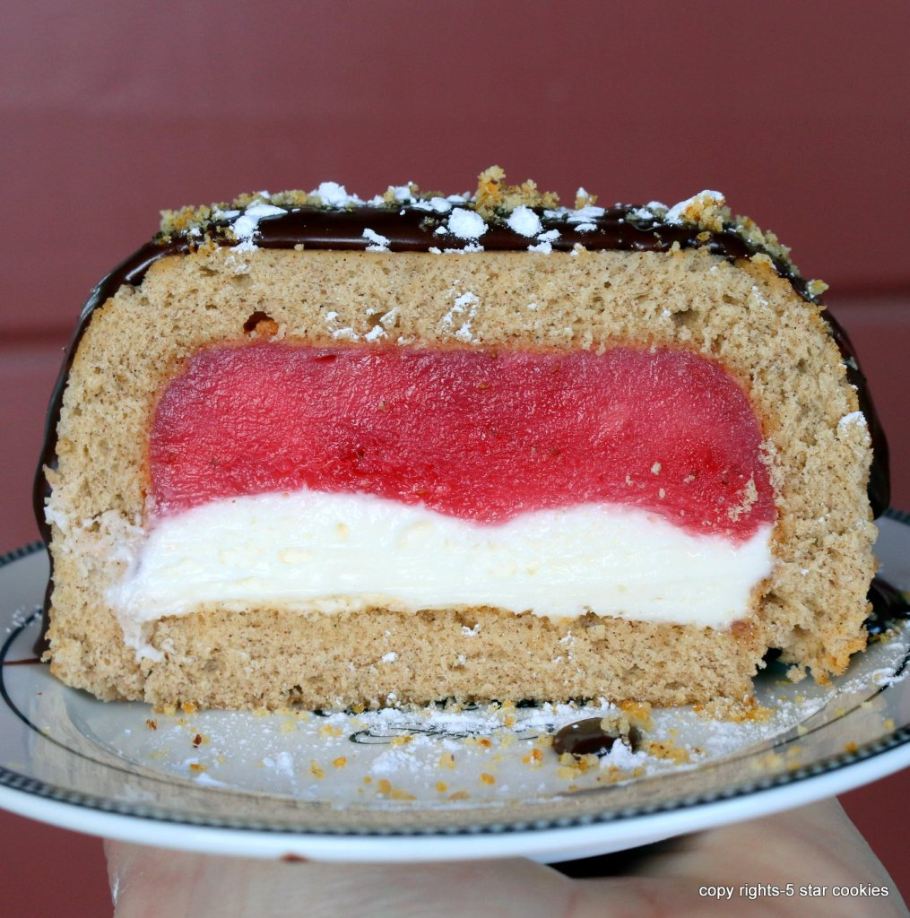 how to make the best the best strawberry cheese tunnel cake