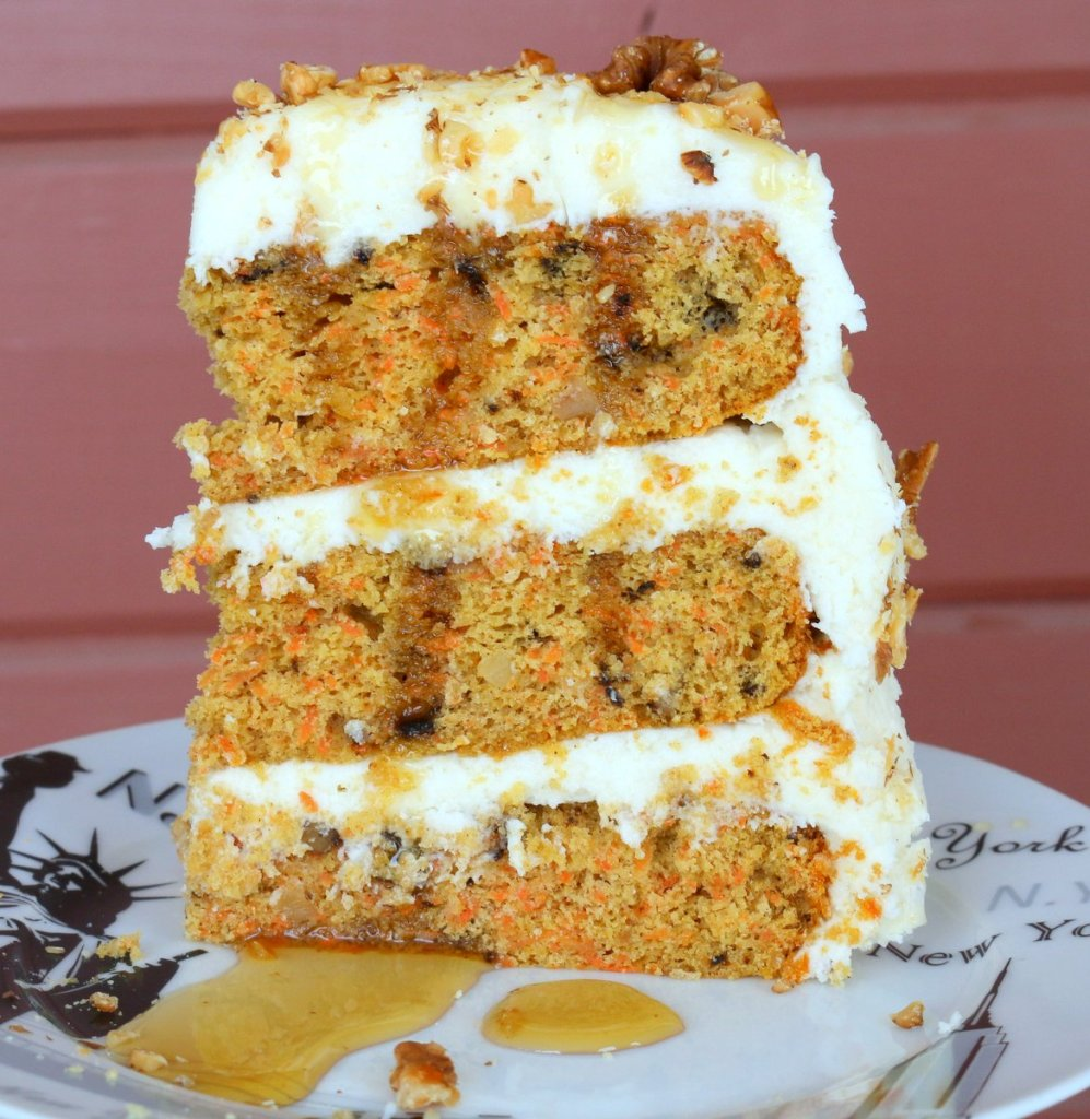 enjoy and share Maple Carrot Cheese Cake