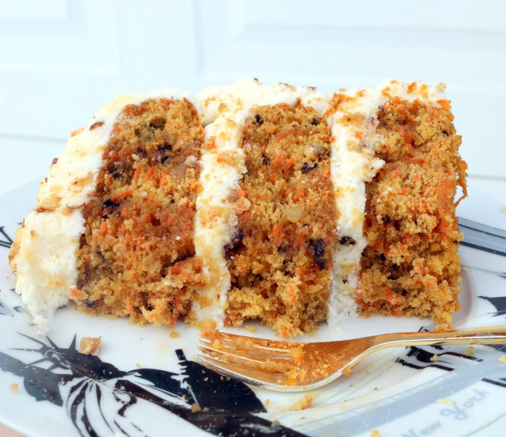 maple carrot cheese cake and maple cheese filling