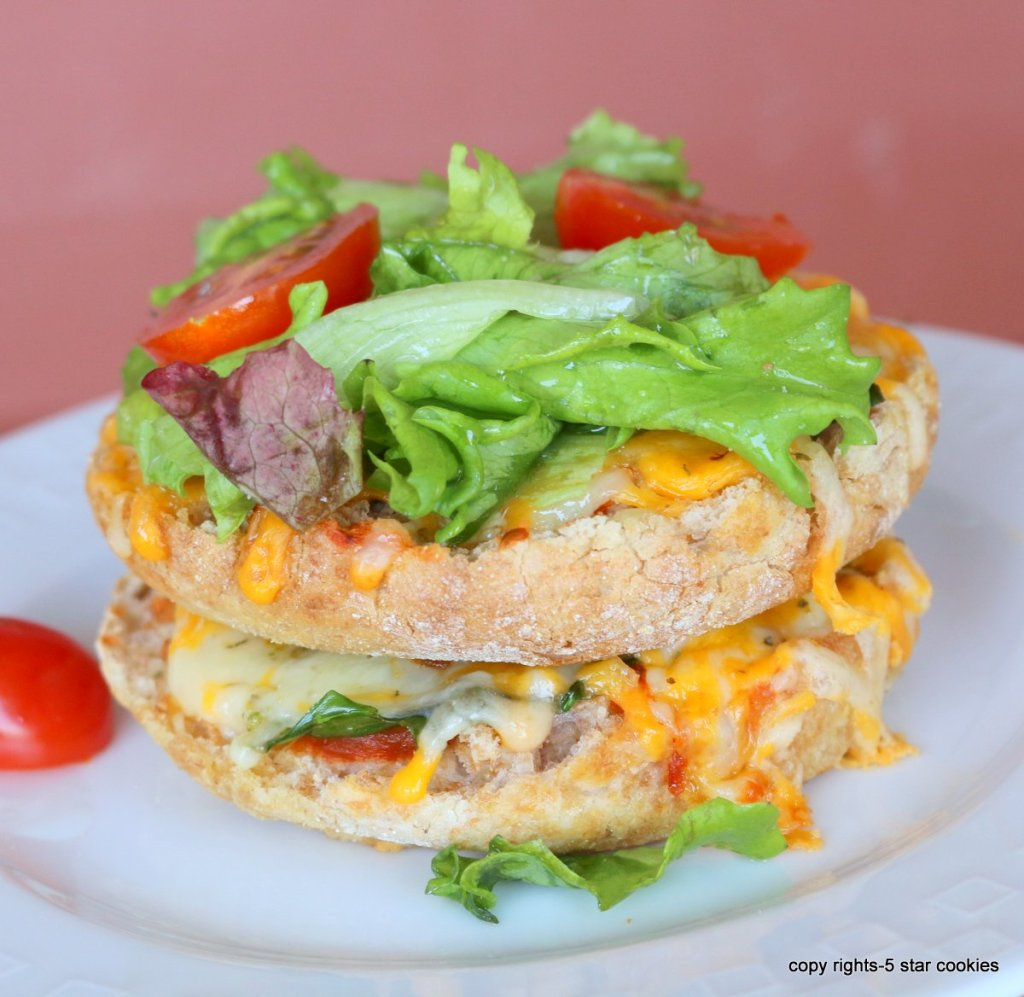 English muffin pizzas is family fun recipe