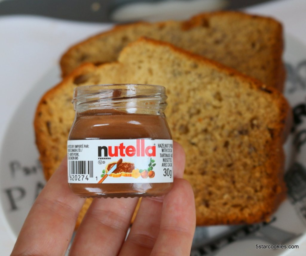 banana bread today show with Nutella  from 5starcookies