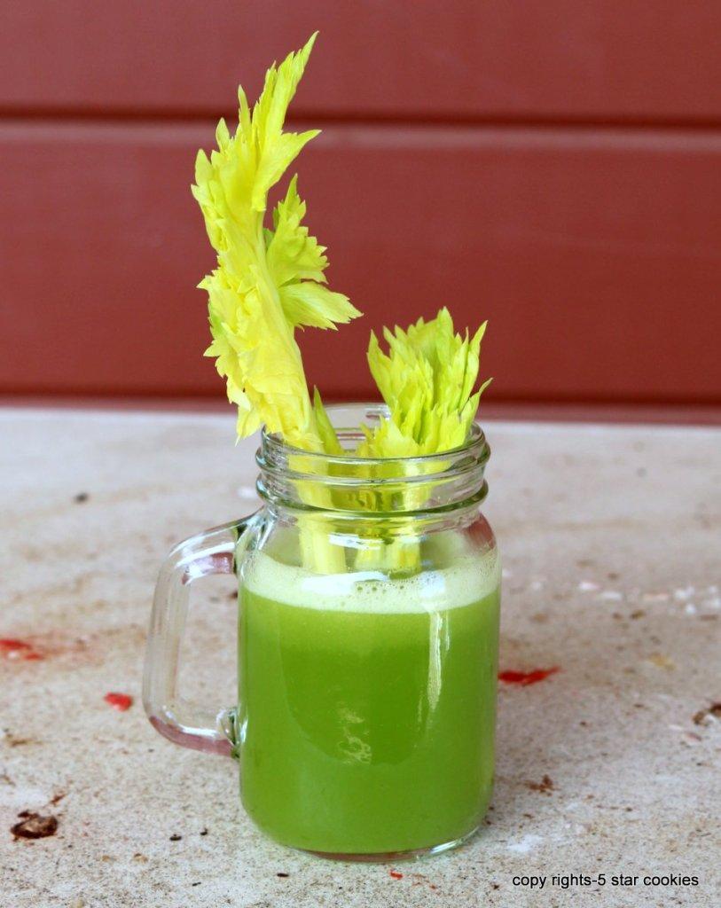 the miracle juice is Celery Lemon Juice