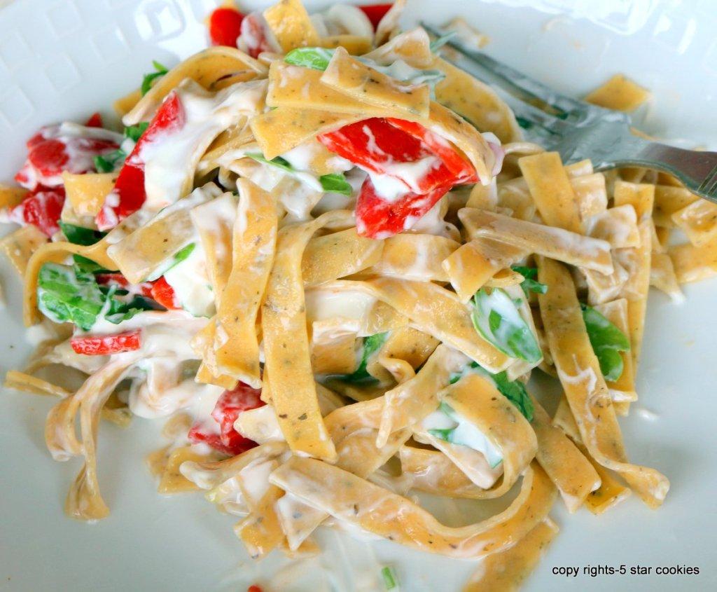 Making Pasta using one ingredient