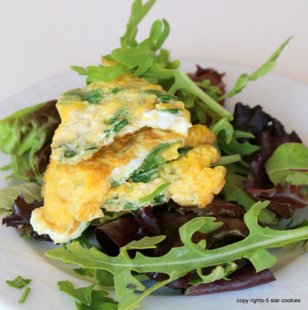 egg spinach breakfast easy recipe