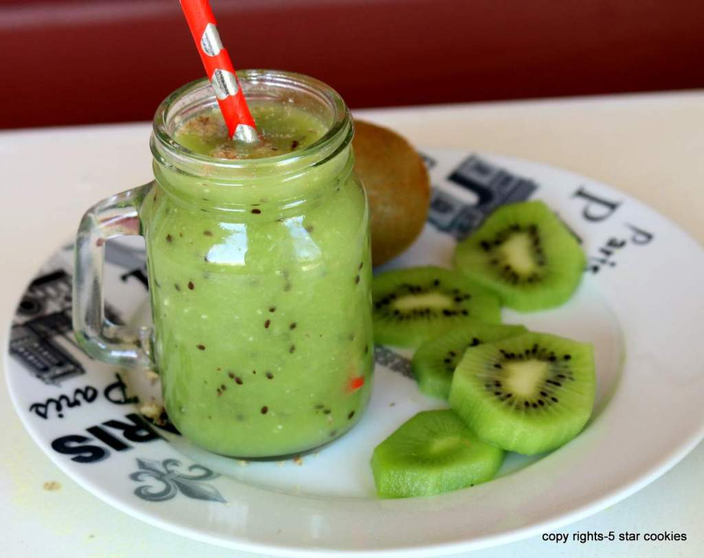 easy healthy kiwi drink to detox your tired liver