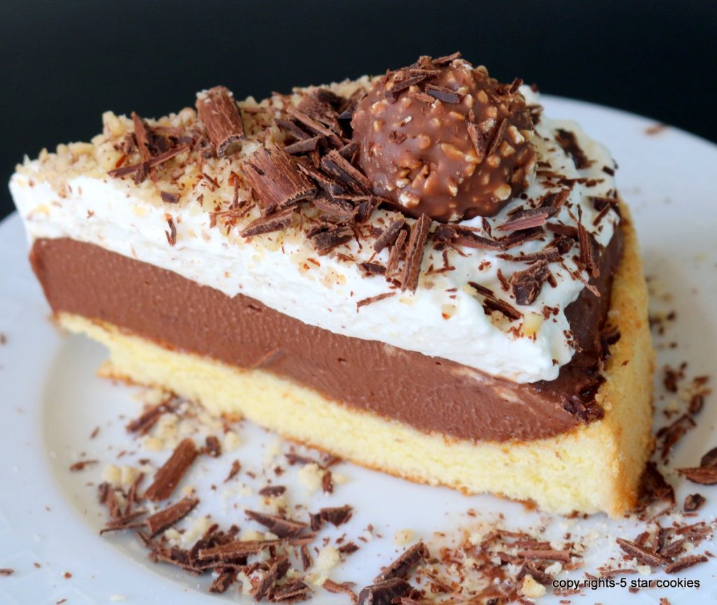 for You Easy Sponge Ferrero Cake