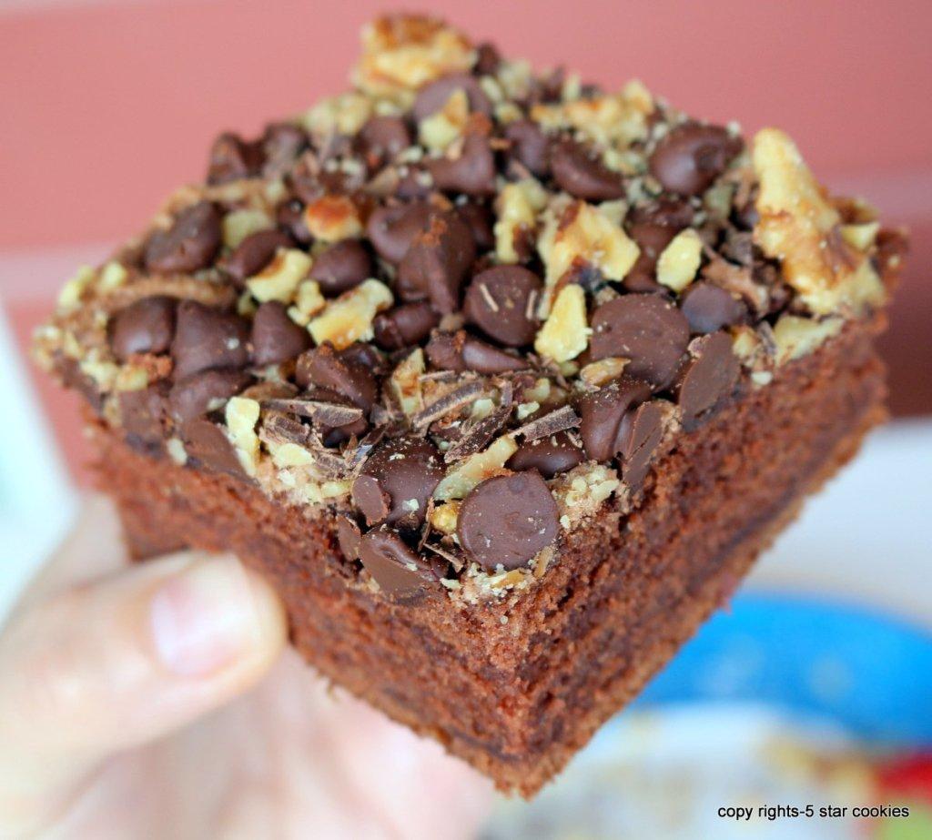 Zucchini chocolate best cake
