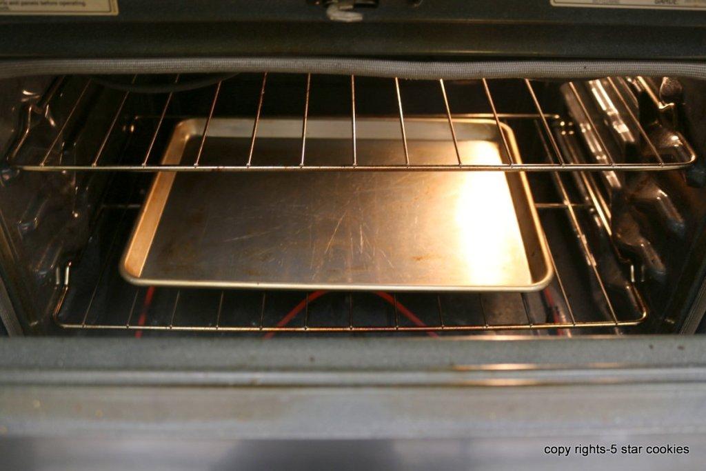 pumpkin pie in oven