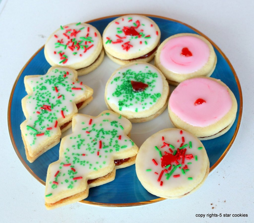 empire cookies for Christmas