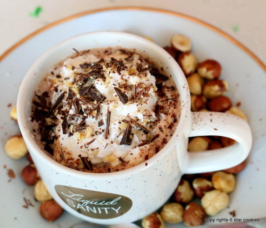 easy Nutella hot chocolate bomb