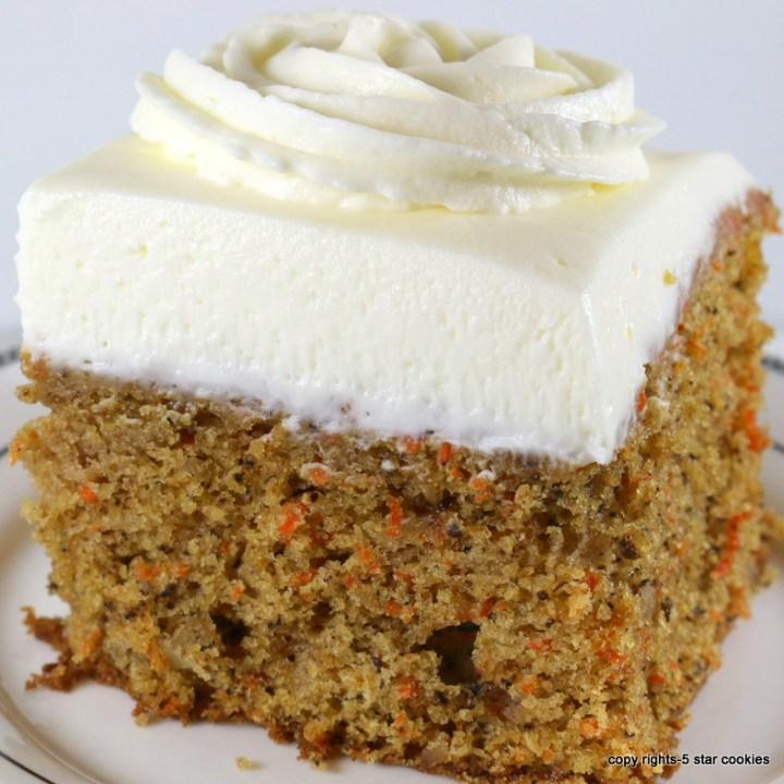 Carrot Cake-Healthy Cake