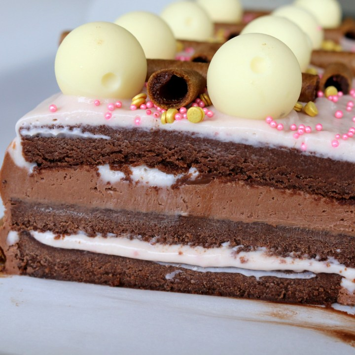 Pink Chocolate Torte - The Best Cake Ever