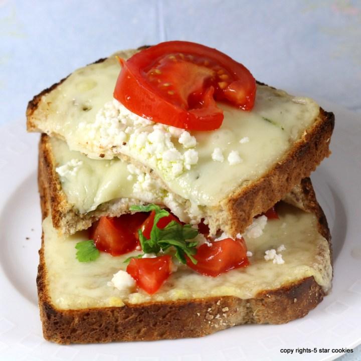 Triple Cheese Sandwich