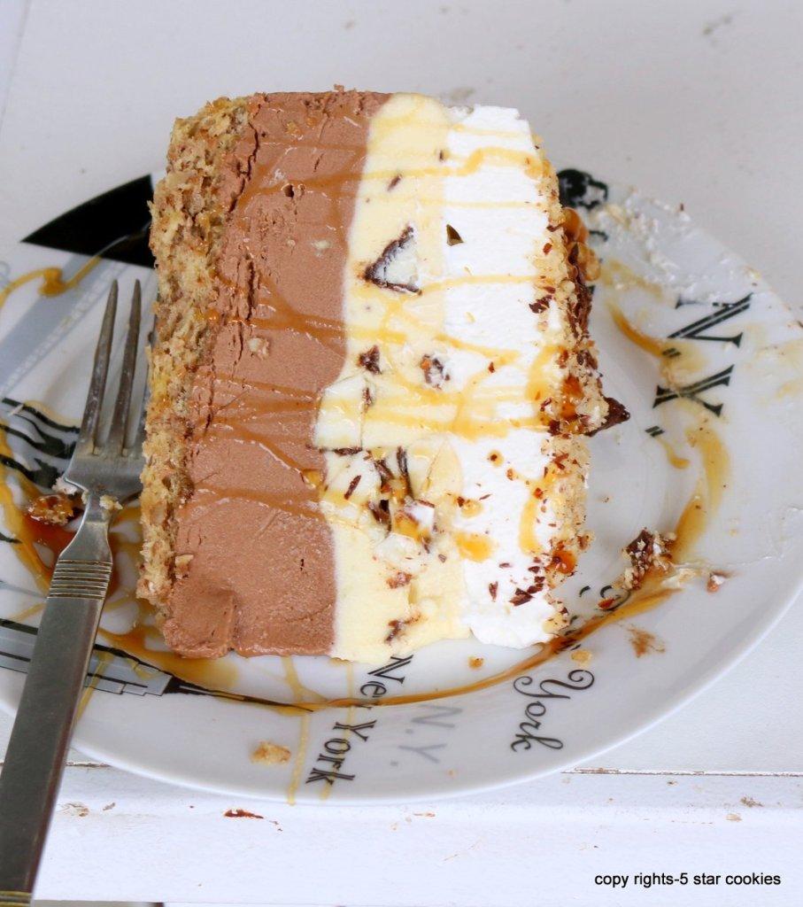 easy walnut chocolate torte