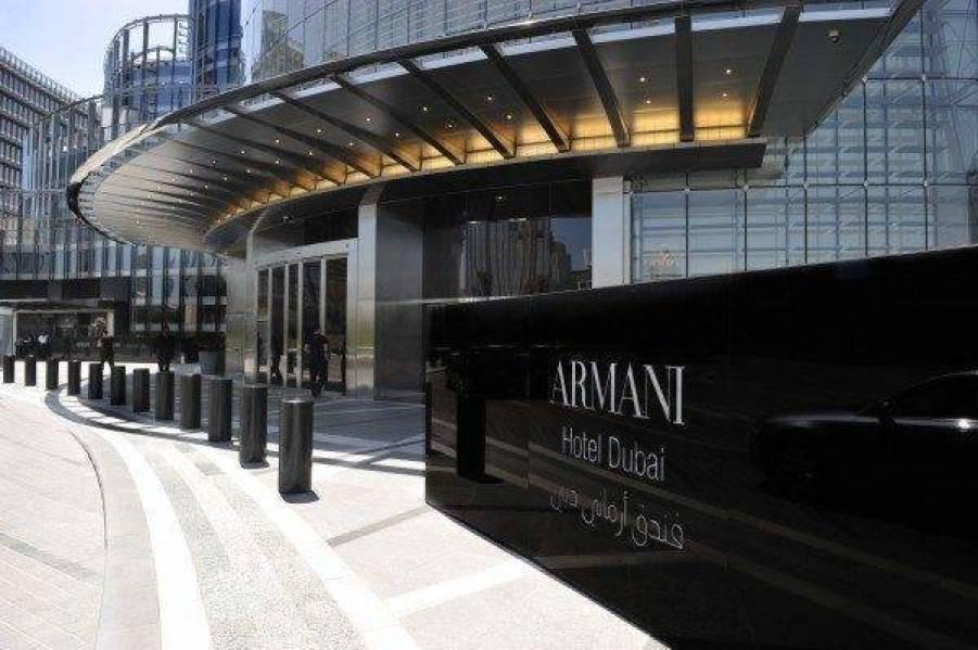 Armani Dubai Entrance