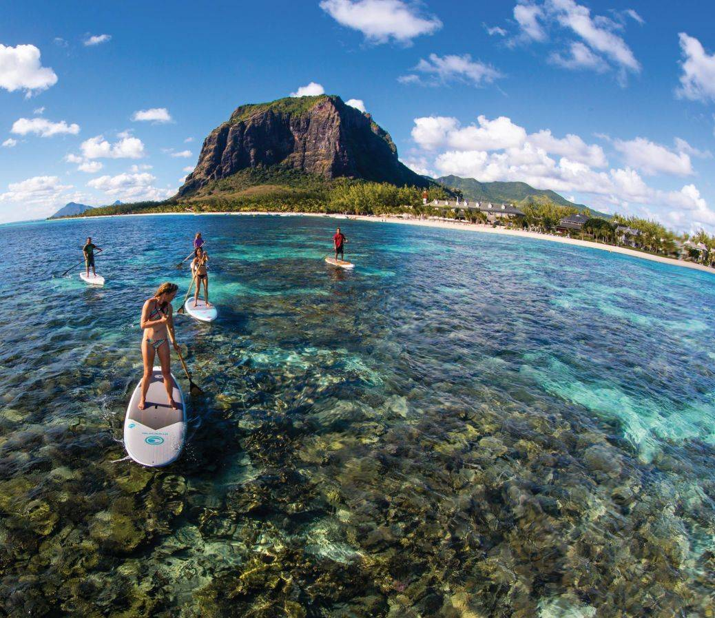 Make the most of the epic reef with water sports for two! Photo: Pryde Club